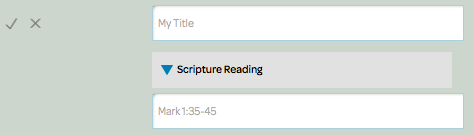insert scripture reading