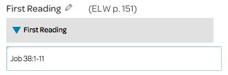 reading element, primary option