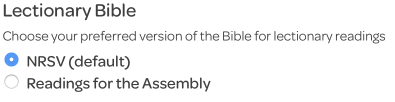 portion to download, lectionary bible